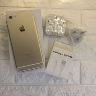 iphone6plus 5'5 gold 16g 100%original 99%new complete set