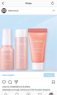 laneige calming set
