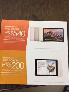 全新未拆封HP 6320 Printer+apple coupon