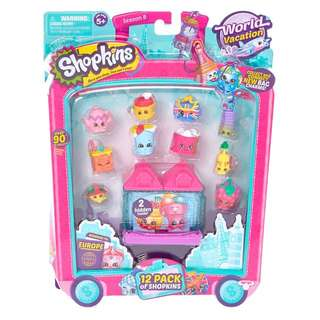 Authentic Shopkins Season 8 World Vacation 12pack
