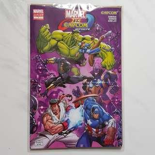 Marvel Vs Capcom Infinite Comic