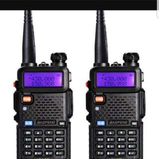 Walkie talkie for rent