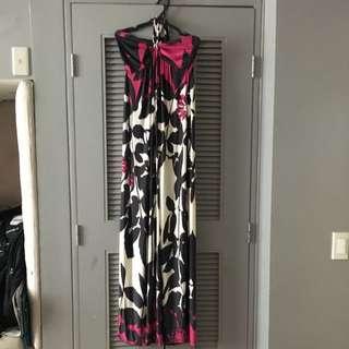 Jersey maxi dress 2-way