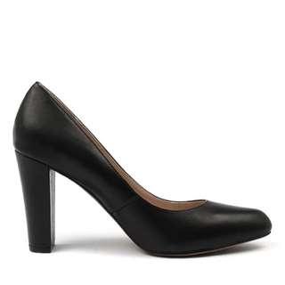 Siren black work high heel