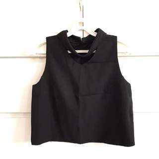 Structured Blouse Top