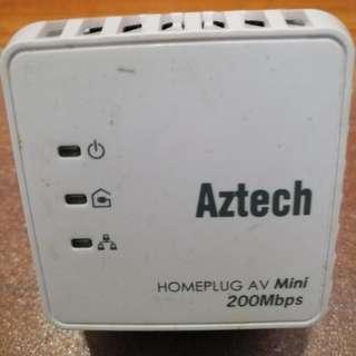 Aztech mini Homeplug 200mbps