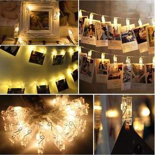 [INSTOCK] Polaroid Clip Fairylight ✨💕🎉