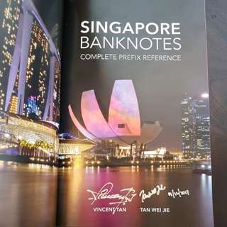 SINGAPORE BANKNOTES COMPLETE PREFIX REFERENCE