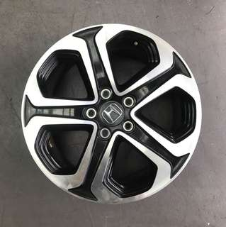 "Used 17"" Original Honda Rims"