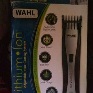 Wahl original rechargeable hair clipper
