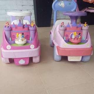 Preloved princess car