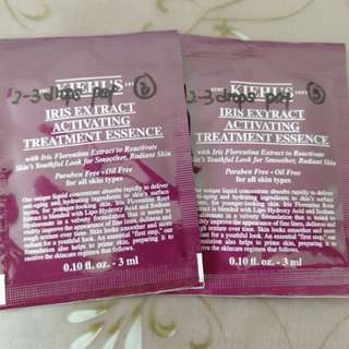 Kiehl's IRIS Extract Activating Treatment Essence 3ml x 2sachets
