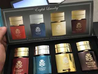 English Laundry 4pc. Eau De Parfum