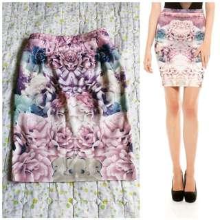 Pastel Print Skirt