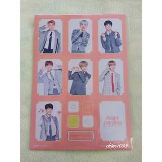 BTS 4TH MUSTER STICKER SET