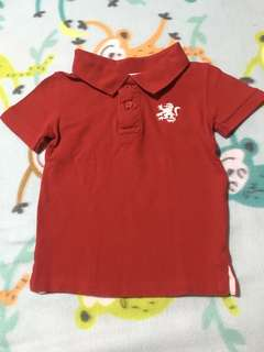 Cotton On Red polo shirt
