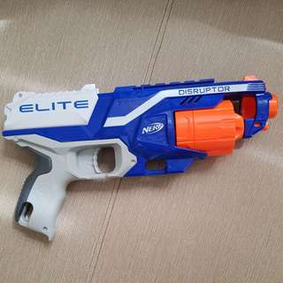 Nerf Elite Disruptor Toy Gun with 6 Ammos