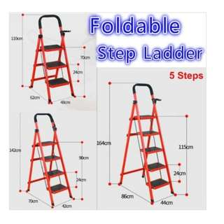 Foldable Ladder - 3/4/5 steps