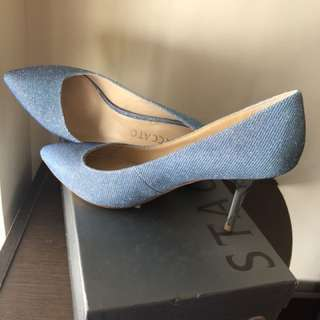 High heels - bling bling blue (全新,原價$1099)