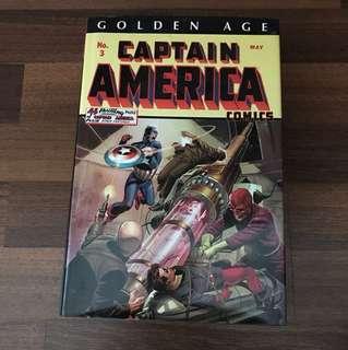 Captain America golden age omnibus comic
