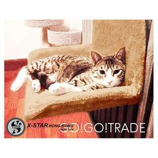 (網上寵物店)p239690 掛牆式貓窩 貓墊子 暖氣墊 貓咪用品 寵物用品