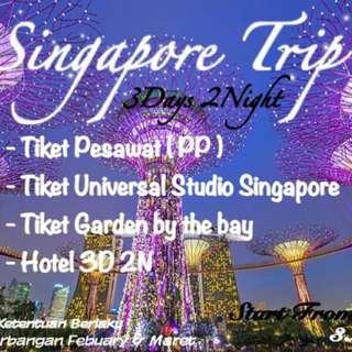 Murah Singapore 3H2M include tiket wahana