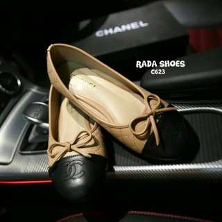 Style Chanel flat shoes