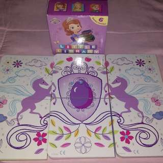 Sofia the First 6 mini board books
