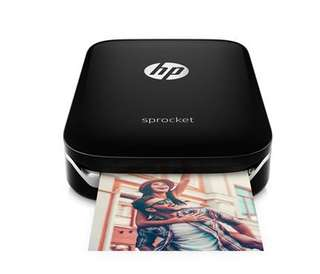 HP Sprocket photo printer (Black)