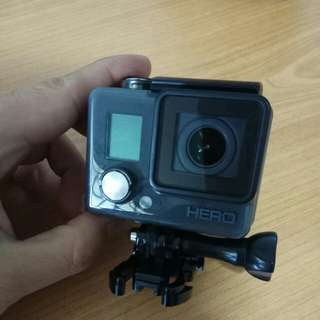 Rarely Used GoPro Hero Action Camera