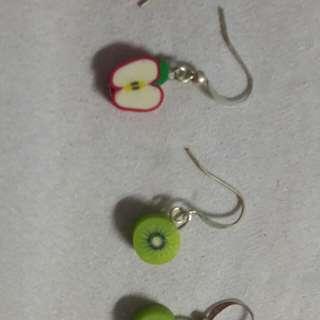 Handmade Cute Fruit clay earring