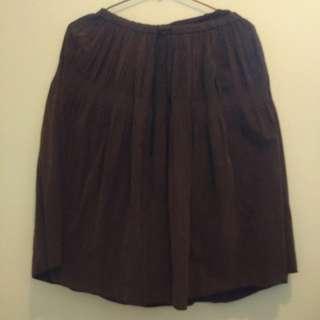 全新氣質咖啡色長裙