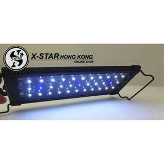 p239318 利俊 LED300 28-48cm 超節能 魚缸水族箱 拉伸腳架 超薄