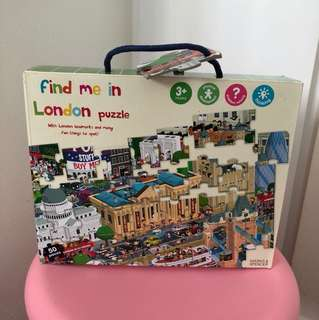 Find me in London puzzle (Mark and Spencer)