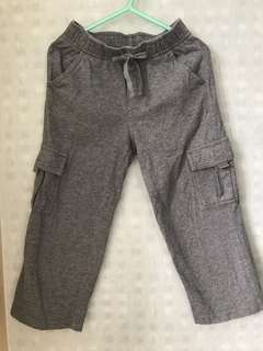 3T Grey Cargo Pants with side Pockets