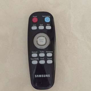Samsung robot cleaner remote control