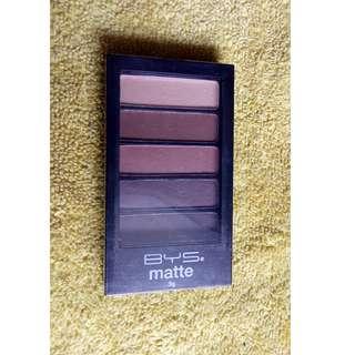 Eye shadow BYS brand matte