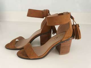 Brown Heels Sandals