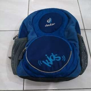 Markdown - Deuter kid bagpack