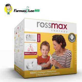 Rossmax NB80 Compact Nebulizer (3 years warranty)