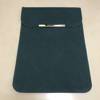 Mac Pro 13吋微絨皮套(墨綠色)