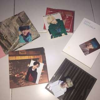 BTS & IKON ALBUMS