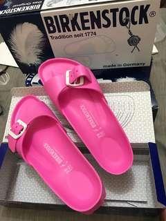 Birkenstock Slippers (Pink) Size 39