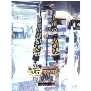 Marc Jacobs Black / Brown / Gold Snapshot Small Camera Crossbody Shoulder Bag 馬克·雅各布斯 黑色 / 啡色 / 金色 獸紋 豹紋 馬毛 斜揹袋 斜背袋 手袋 袋 肩袋