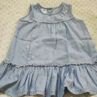 Baby Denim Soft Dress