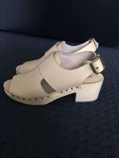 Gorman Clogs - Nude - Worn once!