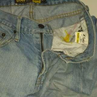 Jeans Lois biru muda size 29
