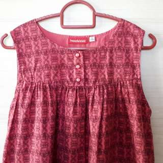 Uniqlo Girl Dress - Ivana Helsinki Red
