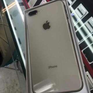 Apple iPhone 8 Plus 64 GB Smartphone Silver Terima Cicilan Tanpa CC