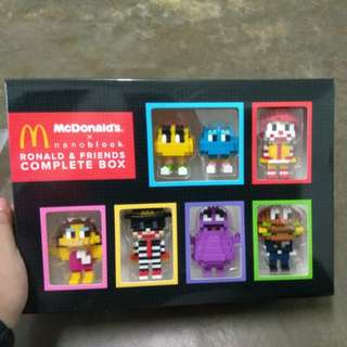 McDonald's Nanoblock with complete box